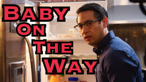 """Booked a role as a young father in this hilarious new short """"Baby On The Way"""" to be released in 2018"""