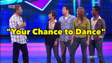 """Watch me compete on CMT's """"Your Chance to Dance."""""""