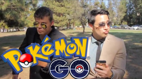 """Booked a recurring lead role on a sketch comedy web series called """"Bits & Pieces.""""  Watch me Pokemon Go in style!"""