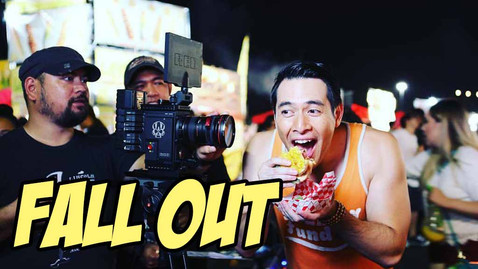"""Booked a short film called """"Fall Out"""" which was an OFFICIAL selection for the Los Angeles Philippines International Film Festival"""