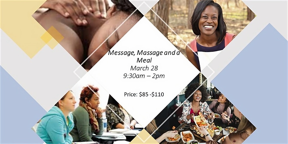 Message, Massage and a Meal