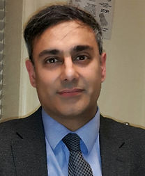 Dr. Karim at the London Allergy Clinic