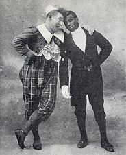 clown Footit et Chocolat