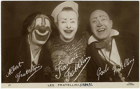 clown Les Fratellinis