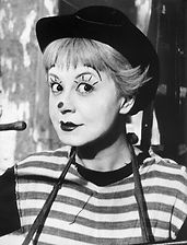 clown Giulietta Masina