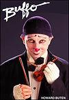 clown Howard Buten