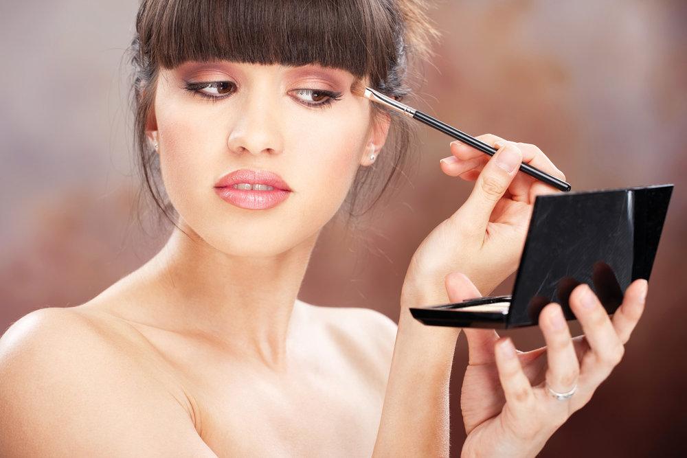 МК по макияжу + разбор косметички