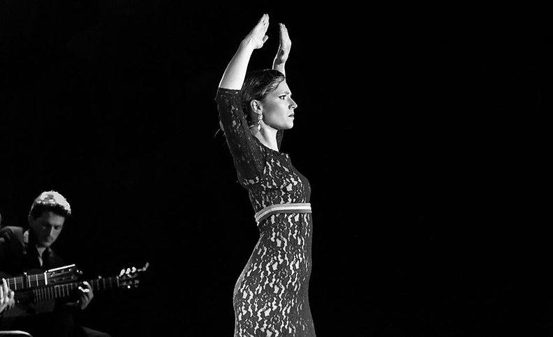 Portrait flamenco toulouse, Camille Viale avec Mael Goldwayser et José Sanchez