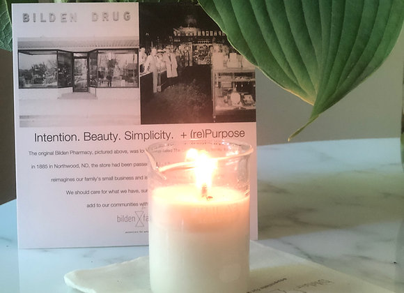 Illuminate Heritage ○ hand-poured soy wax candle