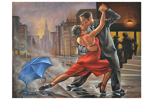 LIMITED EDITION PRINT - DANCING IN THE RAIN