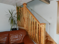 Handrails, posts, spindles, newels