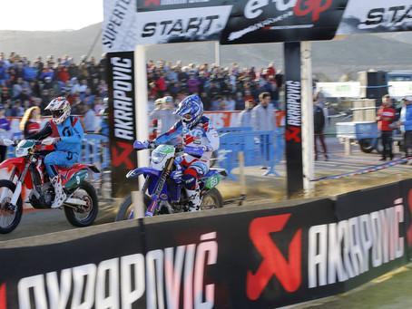 ALEX SALVINI  TOPS BEST TIME AT ENDUROGP SUPERTEST SPAIN