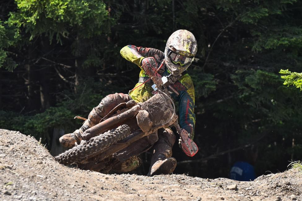Trevor Bollinger rode an impressive race where he took homethe XC2 Pro Lites class win and second overall.Photo: Ken Hill