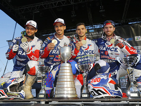 ISDE 2017 France claim victory in World and Junior Trophy classes
