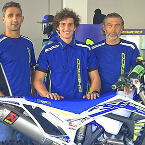 Sherco Factory Sign CAVALLO!