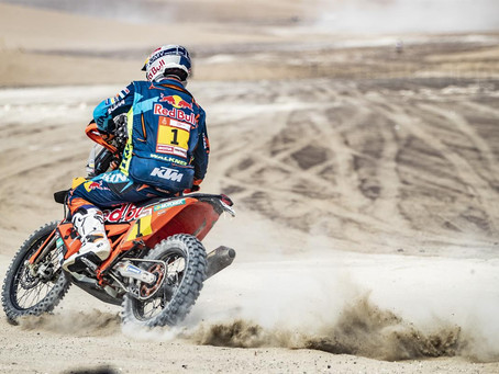 STAGE TWO DAKAR WIN FOR MATTHIAS WALKNER