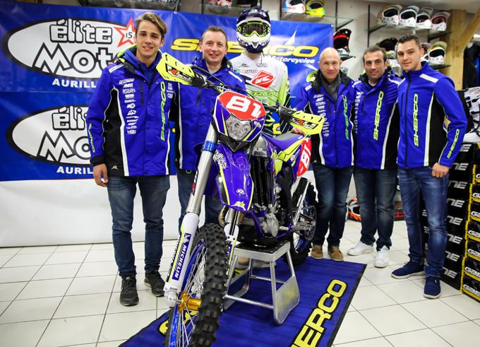 sherco team Tarroux