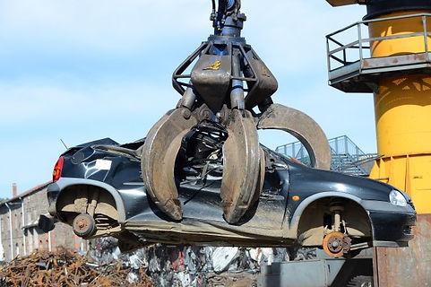 Scrap Car Yard Blackburn, Lancashire