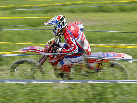 HOLCOMBE SECURES DOUBLE ENDURO 3 CLASS WIN AT GP OF ITALY