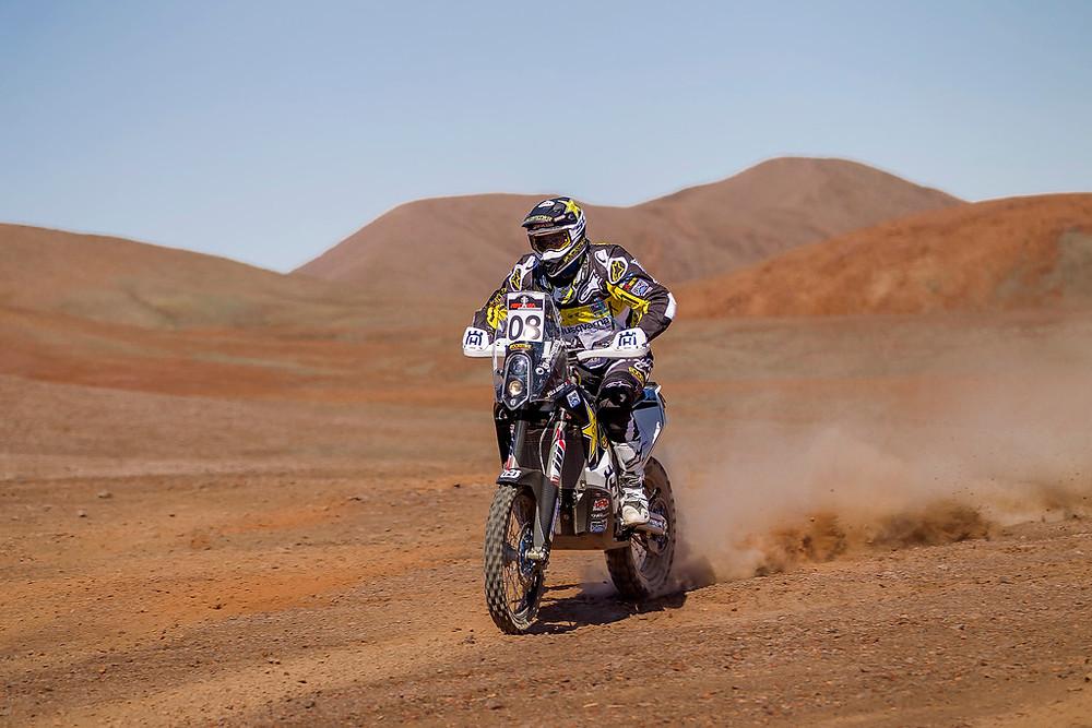 Pela Renet Husqvarna FR 450 Atacama Rally 2016
