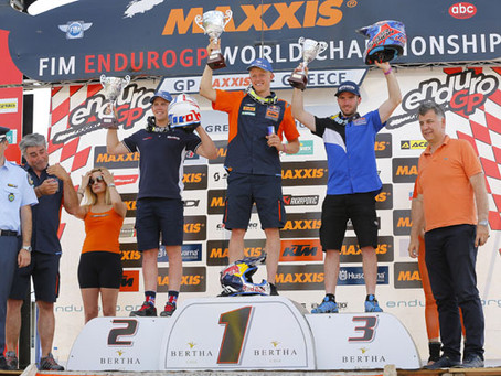 WATSON & MCCANNEY TOP DAY TWO AT ENDUROGP OF GREECE