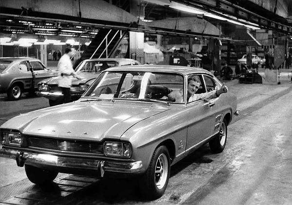 ford capri 1969 halewood motor plant liv