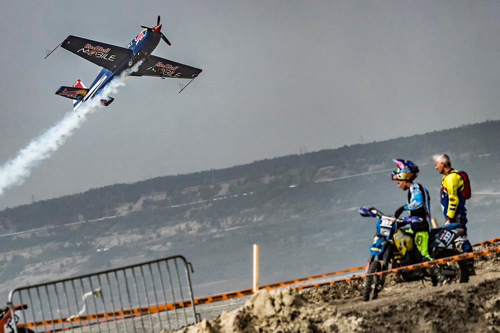 Luke Czepiela performs during the qualification race on Red Bull 111 Megawatt, Poland, Kleszczow on September 17, 2016