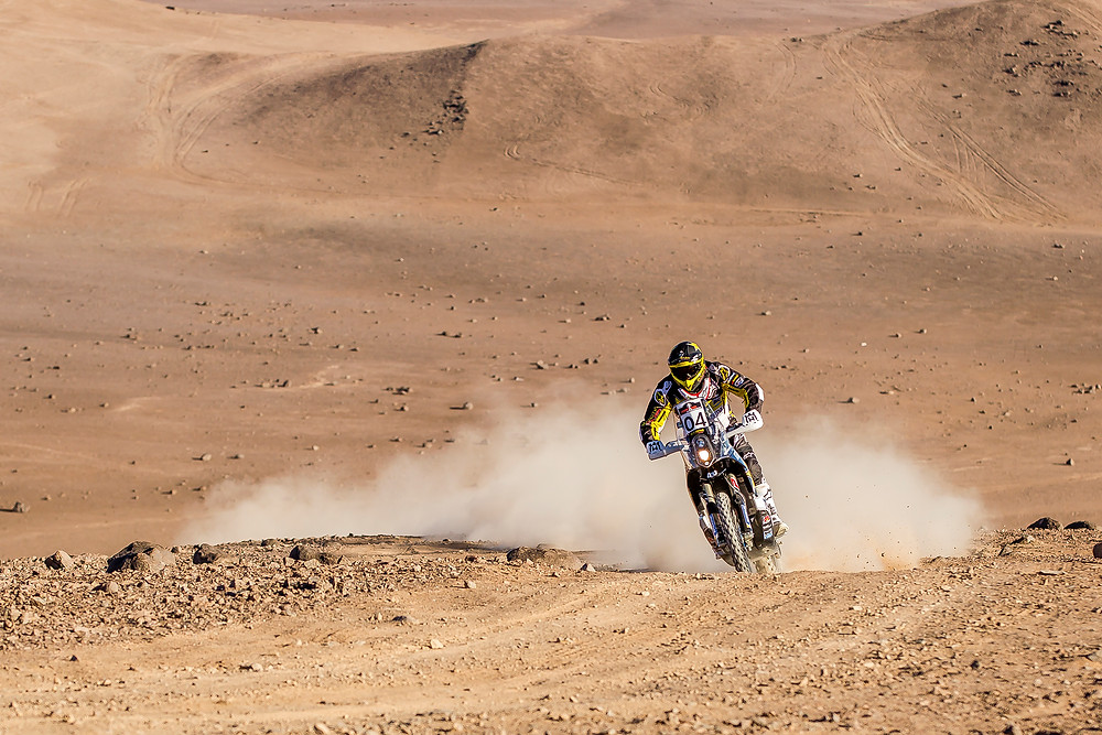 Pablo Quintanilla currently third after stage two at 2016 Atacama Rally