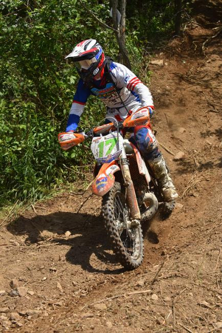 Jason Thomas will be moving up to the XC1 Pro division. Photo: Ken Hill