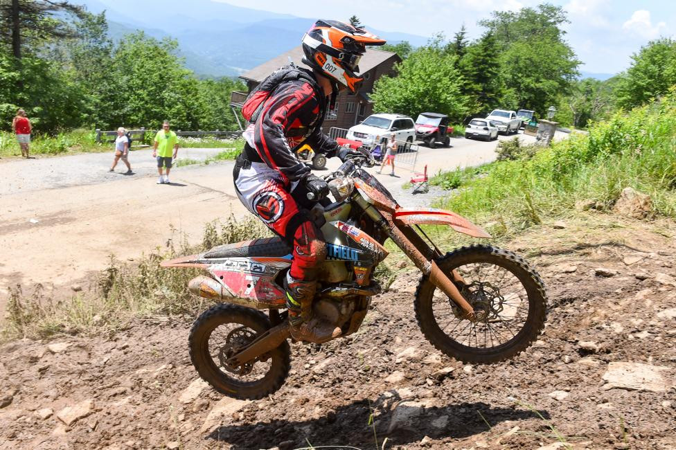Jordan Ashburn finished fourth overall and third in the XC1 Pro class.Photo: Ken Hill