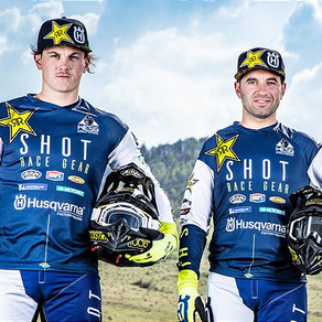 GOMEZ AND BOLT ALL SET FOR 2020 SUPERENDURO SEASON TWO-MAN ROCKSTAR ENERGY HUSQVARNA FACTORY RACING