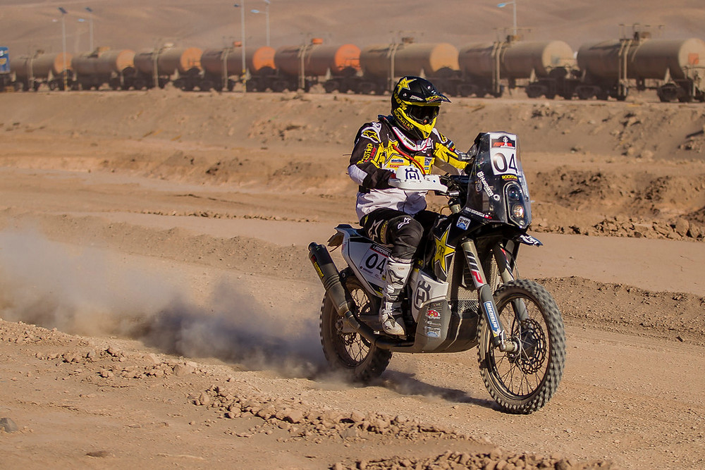 Pablo Quintanilla in Chile at 2016 Atacama Rally