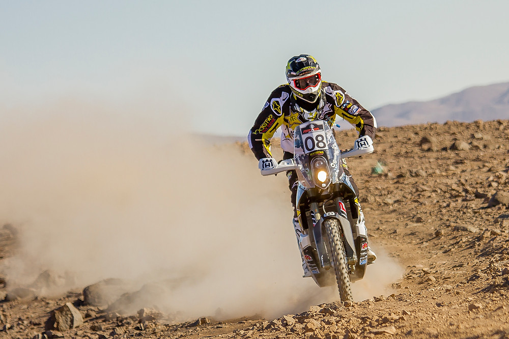 Pela Renet finished twelfth after stage two at 2016 Atacama Rally
