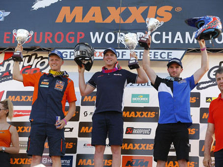 Holcombe and Garcia win on day one of EnduroGP of Greece