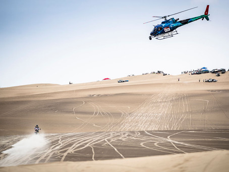 PABLO QUINTANILLA RUNNER-UP ON STAGE ONE OF THE DAKAR RALLY