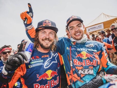 Toby Price is now a two-time Dakar Rally champion