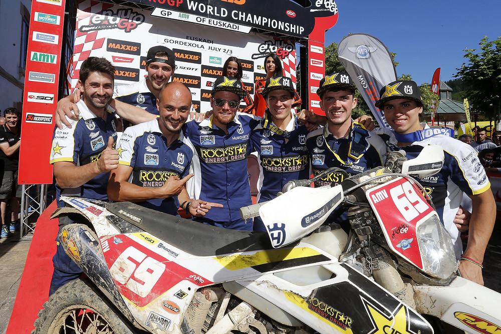 Rockstar Energy Husqvarna Factory Racing - 2016 Enduro World Championship, Rnd 6, Spain