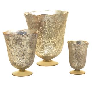 """Neeta Vase 6"""", 8"""" 11"""".  Rental: $8, 12, 15 Retail $29.99, $44.99, $49.99"""