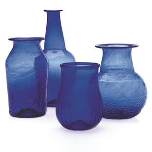 Cobalt Vase: 2x4-3x7 Rental: all sizes $3 Retail $9.99-$12.99