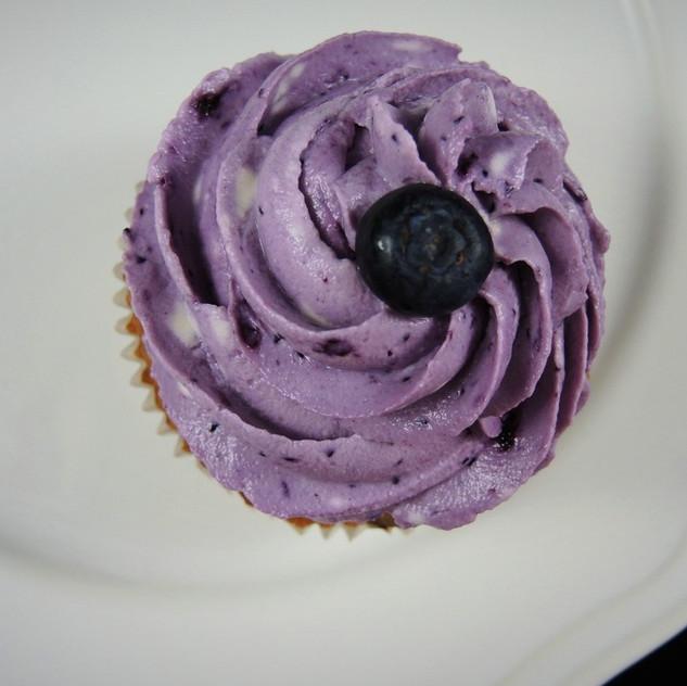 Heidelbeer Cupcakes