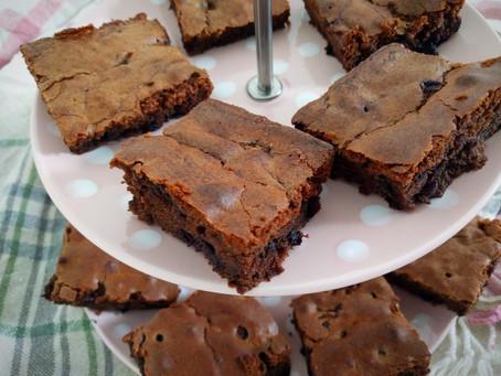 Heidelbeer-Brownies