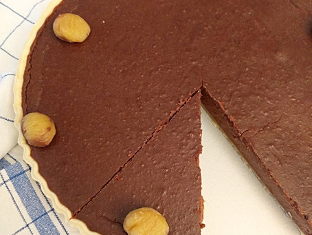 Schokoladen-Maroni Tarte