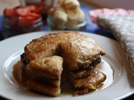 luftige Pancakes