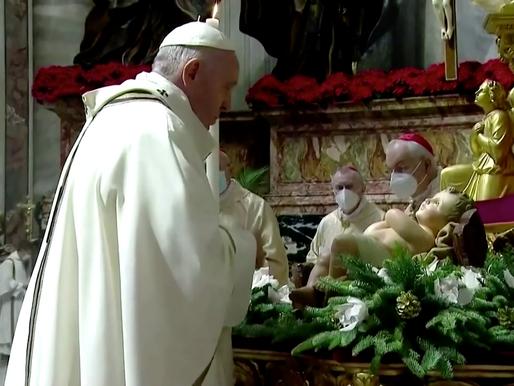 El Papa pide ayuda para los pobres en  nochebuena