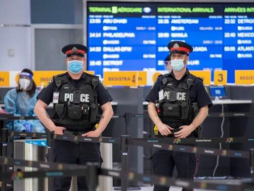 Viajeros multados por rechazar pruebas en YYZ