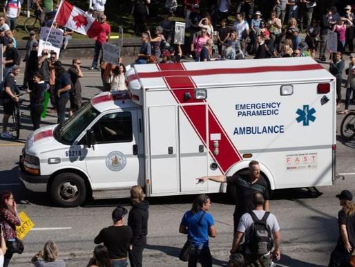 Los manifestantes canadienses contra las vacunas COVID-19 se retirarán de los hospitales