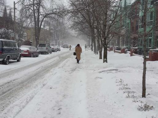 El pronóstico indica nieve en gran cantidad