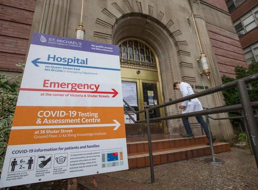 Aumento de informes de nuevos casos COVID-19