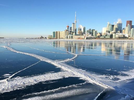 Aire ártico trae temperaturas más frías