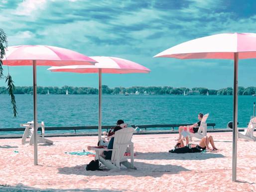 Las playas de Toronto abren por la temporada justo a tiempo para la ola de calor